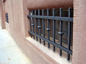 kováme - mříže na rodinném domě